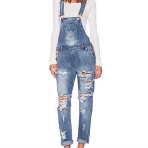 One by one teaspoon overalls